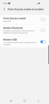 Samsung Galaxy S10e - Internet et connexion - Utiliser le mode modem par USB - Étape 8