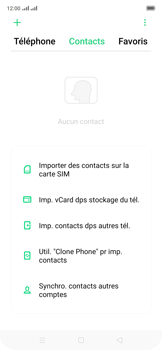 Oppo Reno 2Z - Contact, Appels, SMS/MMS - Ajouter un contact - Étape 4