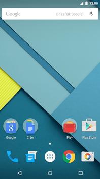 Motorola Nexus 6 - MMS - configuration automatique - Étape 1