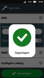 Doro 8031 - SMS - SMS-centrale instellen - Stap 12