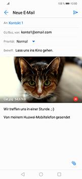 Huawei Nova 3 - E-Mail - E-Mail versenden - 15 / 17