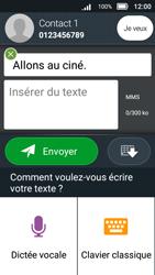 Doro 8031 - Contact, Appels, SMS/MMS - Envoyer un MMS - Étape 13