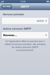 Apple iPhone 4S - E-mail - Configuration manuelle - Étape 14
