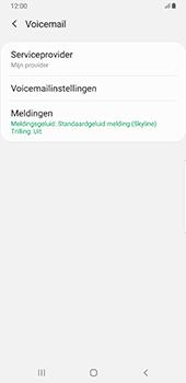 Samsung Galaxy S8+ - Android Pie (SM-G955F) - Voicemail - Handmatig instellen - Stap 7