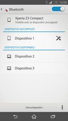Sony Xperia Z3 Compact - Bluetooth - Collegamento dei dispositivi - Fase 8