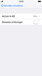 Apple iPhone 5s - iOS 12 - Réseau - Activer 4G/LTE - Étape 5