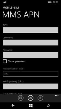 Microsoft Lumia 640 XL - MMS - Manual configuration - Step 8