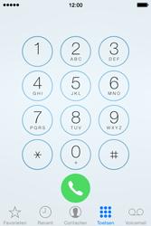 Apple iPhone 4S (iOS 8) - voicemail - handmatig instellen - stap 4