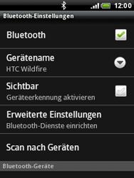 HTC A3333 Wildfire - Bluetooth - Geräte koppeln - Schritt 9