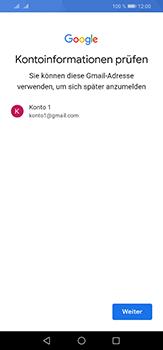 Huawei P30 Lite - Apps - Einrichten des App Stores - Schritt 14