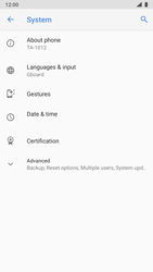 Nokia 8 - Android Pie - Mobile phone - Resetting to factory settings - Step 5