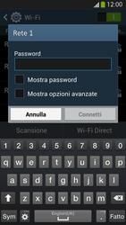 Samsung Galaxy S 4 LTE - WiFi - Configurazione WiFi - Fase 7