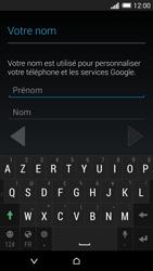 HTC Desire 816 - Premiers pas - Créer un compte - Étape 7