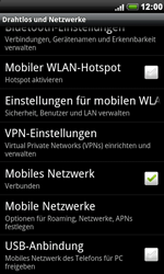 HTC A8181 Desire - Netzwerk - Netzwerkeinstellungen ändern - Schritt 5