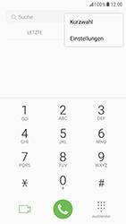 Samsung Galaxy S6 (G920F) - Android Nougat - Anrufe - Rufumleitungen setzen und löschen - Schritt 5