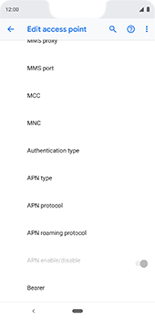Google Pixel 3XL - Internet - Manual configuration - Step 16