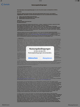 Apple iPad Pro 12.9 inch - iOS 11 - Persönliche Einstellungen von einem alten iPhone übertragen - 19 / 29