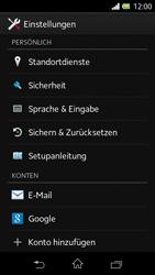Sony Xperia L - Fehlerbehebung - Handy zurücksetzen - 6 / 11