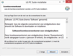 LG E460 Optimus L5 II - software - pc suite installeren - stap 4