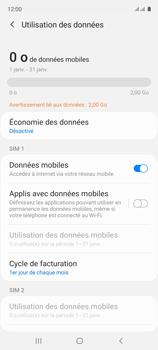 Samsung Galaxy A51 - Internet et connexion - Désactiver la connexion Internet - Étape 6