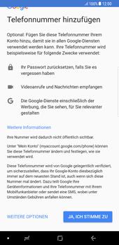 Samsung Galaxy Note 8 - Apps - Einrichten des App Stores - Schritt 12