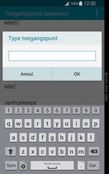 Samsung Galaxy Note Edge - internet - handmatig instellen - stap 13