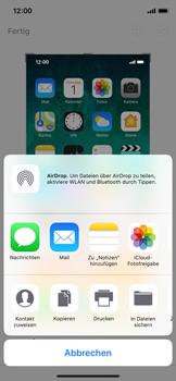 Apple iPhone X - iOS 11 - Bildschirmfotos erstellen und sofort bearbeiten - 8 / 8