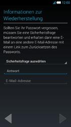 Alcatel Idol S - Apps - Konto anlegen und einrichten - 12 / 25