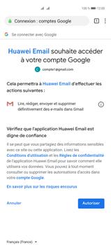 Huawei P40 Pro - E-mails - Ajouter ou modifier votre compte Gmail - Étape 12