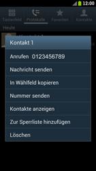 Samsung I9300 Galaxy S III - Anrufe - Anrufe blockieren - Schritt 5