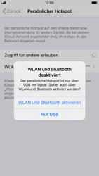 Apple iPhone SE (2020) - iOS 14 - WiFi - So aktivieren Sie einen WLAN-Hotspot - Schritt 7