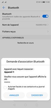 Huawei P20 - Bluetooth - Jumelage d