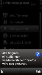 Nokia 5230 - Fehlerbehebung - Handy zurücksetzen - Schritt 9