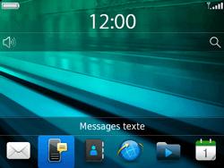 BlackBerry 9720 - Contact, Appels, SMS/MMS - Envoyer un SMS - Étape 3