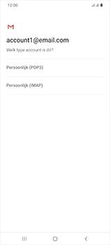Samsung Galaxy S20 Ultra 5G Dual SIM eSIM SM-G988B - E-mail - Handmatig instellen - Stap 12