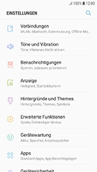Samsung Galaxy J3 (2017) - Apps - Eine App deinstallieren - Schritt 4