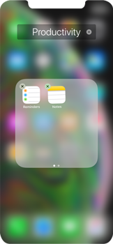 Apple iPhone XS Max - Getting started - Personalising your Start screen - Step 8