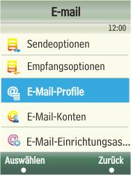 Samsung F480-TouchWiz - E-Mail - Konto einrichten - Schritt 22