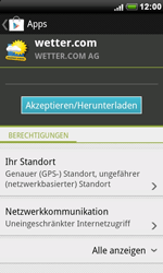 HTC A8181 Desire - Apps - Herunterladen - Schritt 14