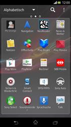 Sony Xperia V - Apps - Einrichten des App Stores - Schritt 3