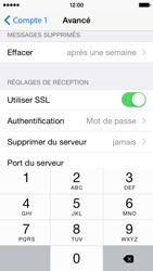 Apple iPhone 5s (iOS 8) - E-mails - Ajouter ou modifier un compte e-mail - Étape 24