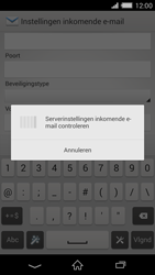Sony D6503 Xperia Z2 - E-mail - Account instellen (IMAP zonder SMTP-verificatie) - Stap 11
