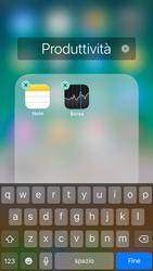 Apple iPhone 6 - iOS 11 - Operazioni iniziali - Personalizzazione della schermata iniziale - Fase 6