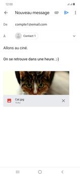 Samsung Galaxy Note20 - E-mails - Envoyer un e-mail - Étape 16