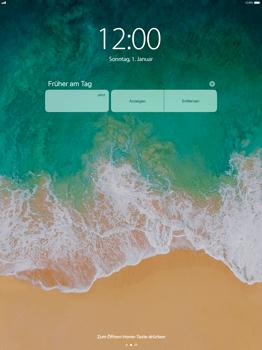 Apple iPad Pro 12.9 inch - iOS 11 - Sperrbildschirm und Benachrichtigungen - 6 / 9