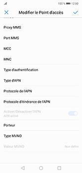Huawei P20 Lite - Internet - configuration manuelle - Étape 12