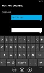 Nokia Lumia 800 - Contact, Appels, SMS/MMS - Envoyer un SMS - Étape 9