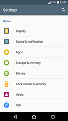 Sony Xperia X Performance (F8131) - Voicemail - Manual configuration - Step 4