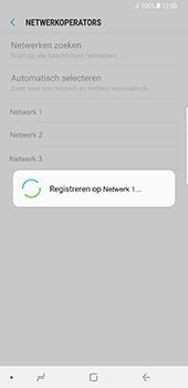 Samsung Galaxy Note 8 - Netwerk - Handmatig een netwerk selecteren - Stap 10