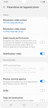 Samsung Galaxy A42 5G - Photos, vidéos, musique - Créer une vidéo - Étape 8